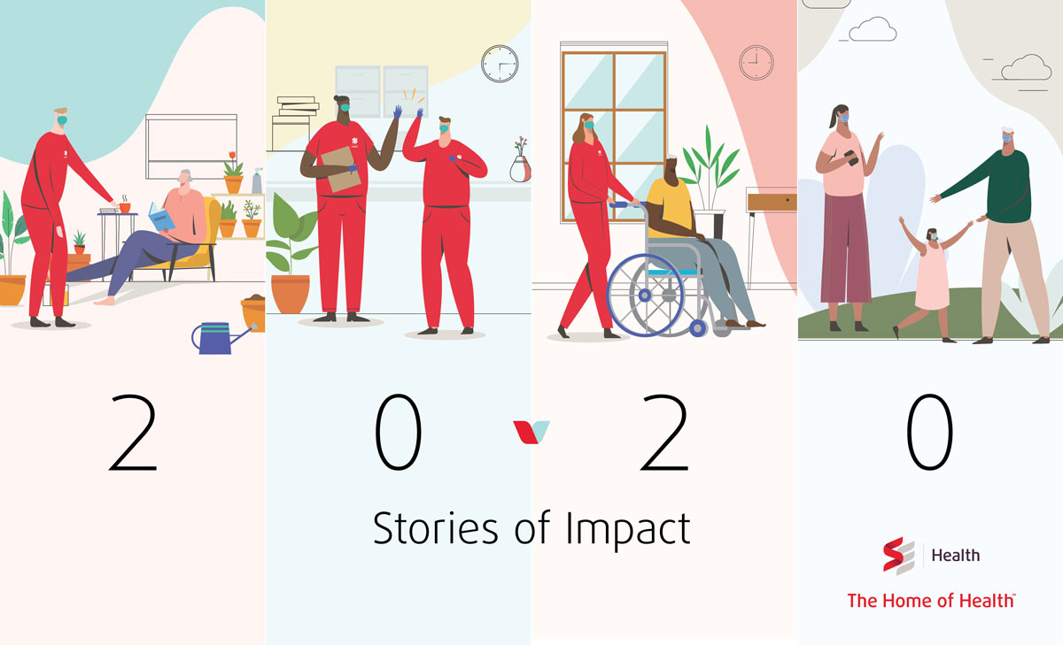 SE Health's 2020 Impact Report shares the stories of the people, families and communities at SE Health.