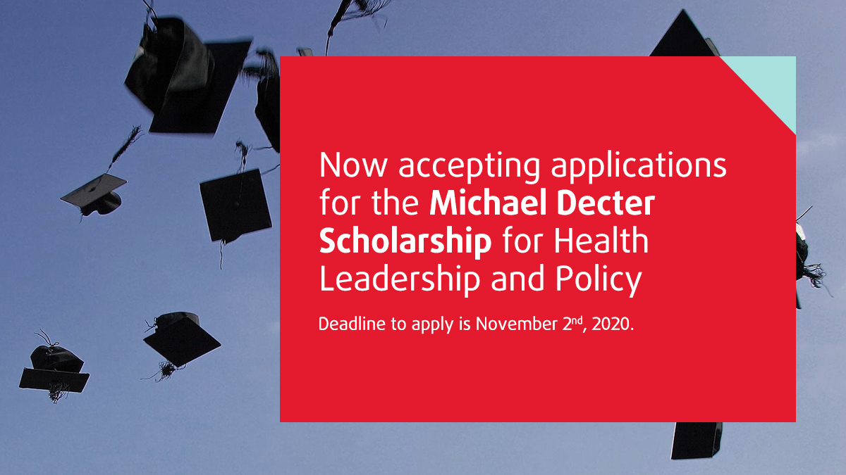 Apply Today and Share Your Passion for Health Leadership and Policy!