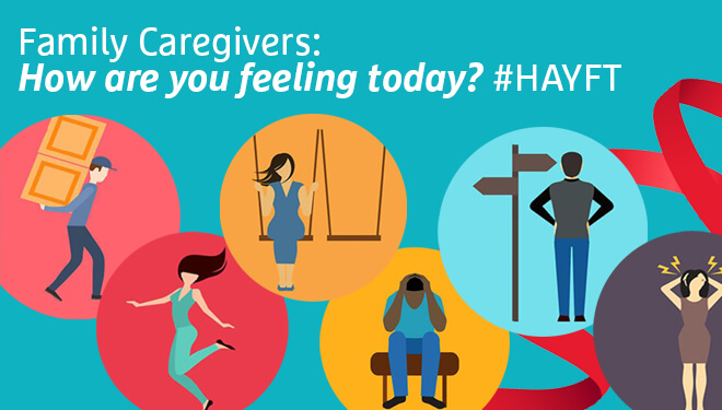 Family Caregivers: How are you feeling today?