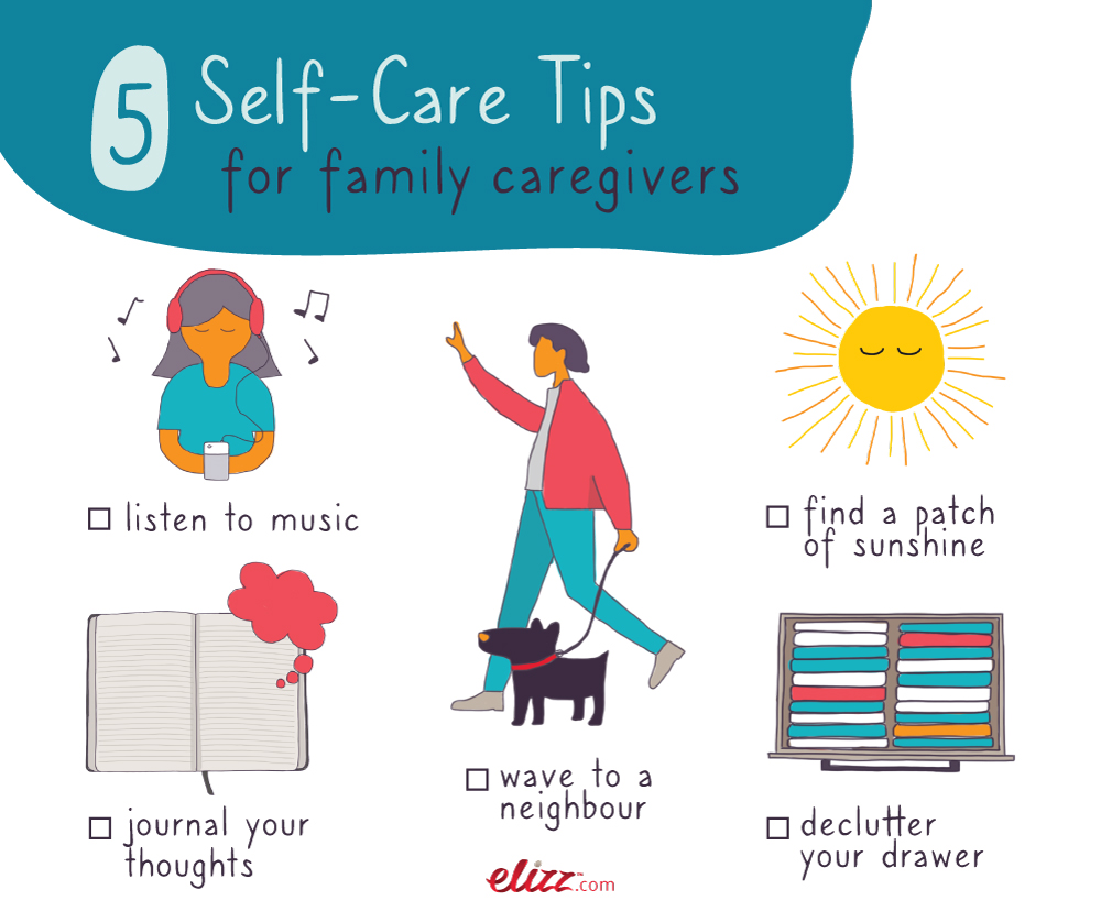 image of 5 selfcare tips